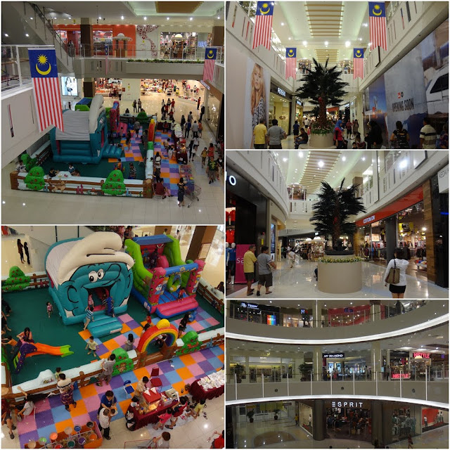 Jusco Station 18 store is the biggest shopping mall in Ipoh, Perak, Malaysia