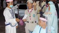 Satuan Pramuka saudi Arabia terlibat membantu jamaah Haji