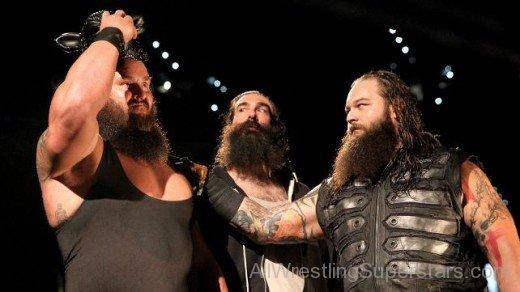 Bray Luke Harper Wyatt Family Braun Dean Uso Ambrose NOTC