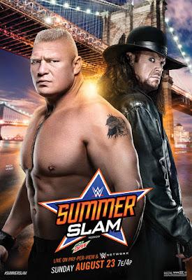 SummerSlam 2015 poster
