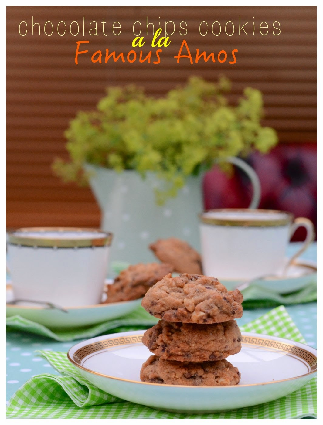 indonesian medan food chocolate chips cookies a la famous