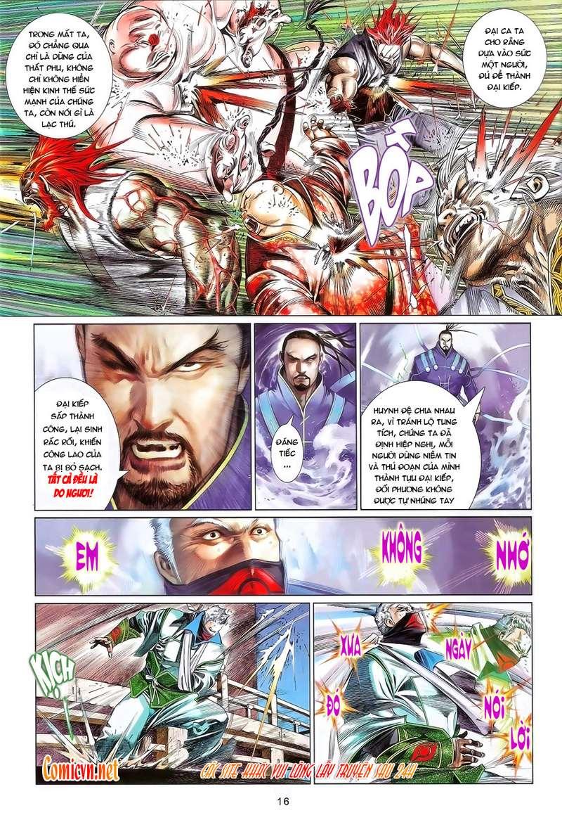 Phong Vân chap 636 Trang 16 - Mangak.info