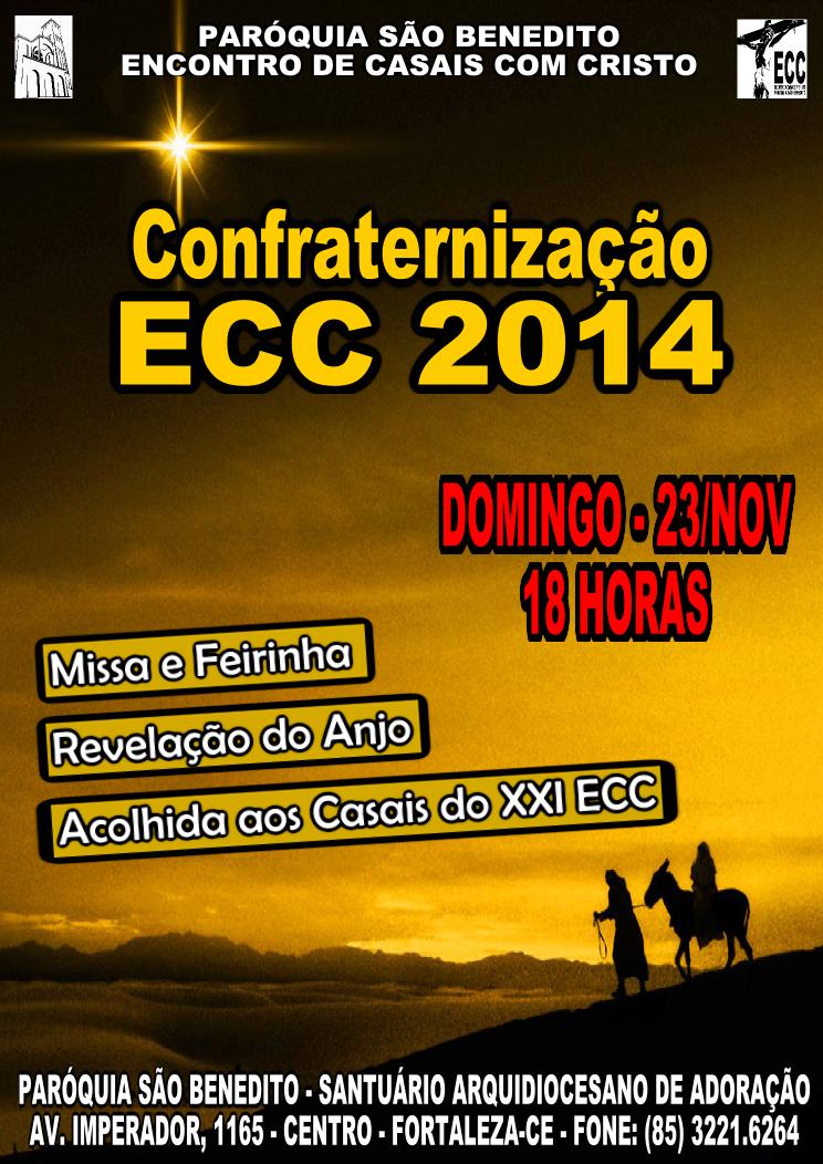 Confraternização ECC 2014