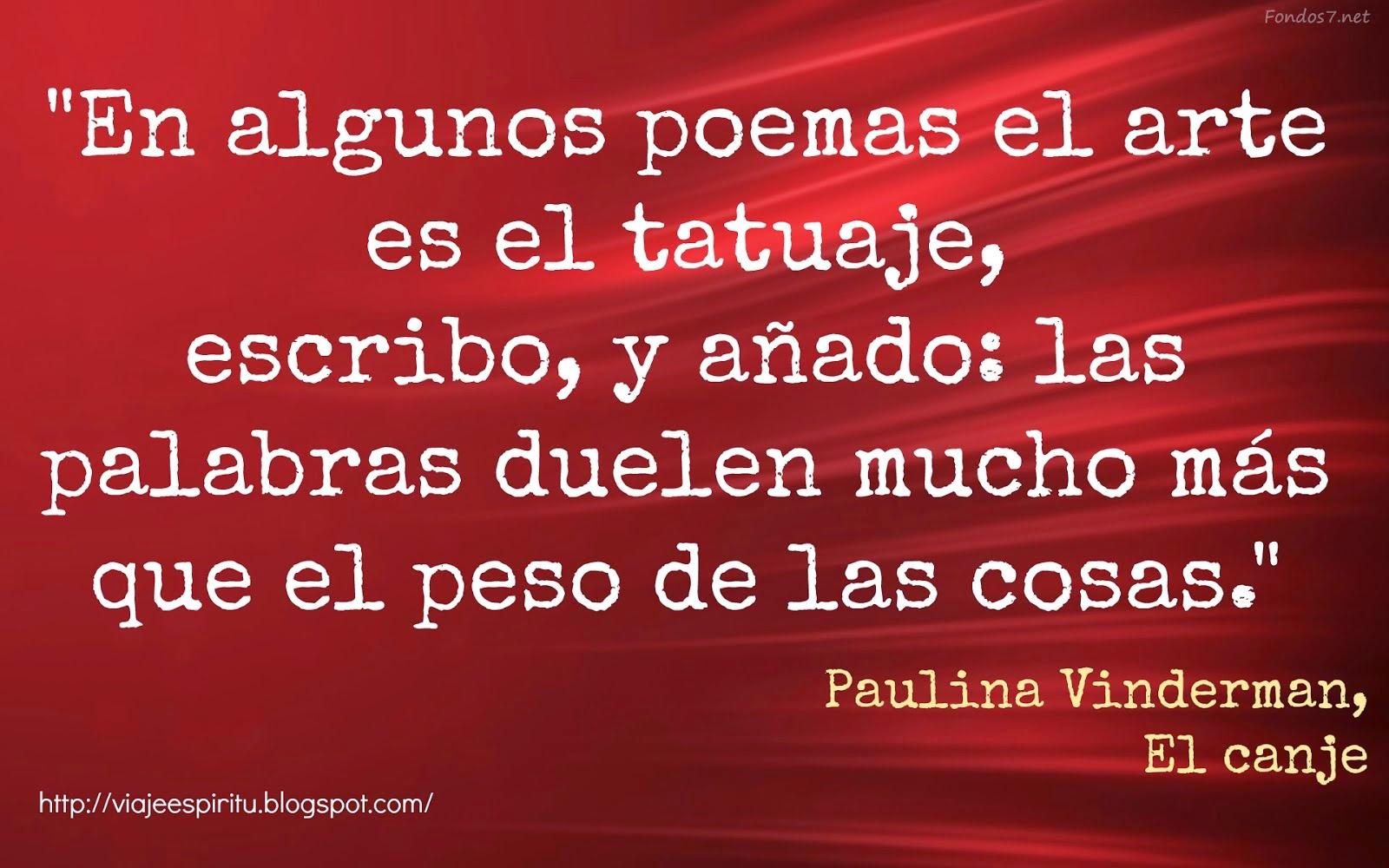 Paulina Vinderman - El canje