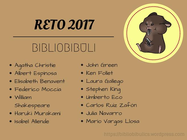 RETO BIBLIOBIBULI 2017