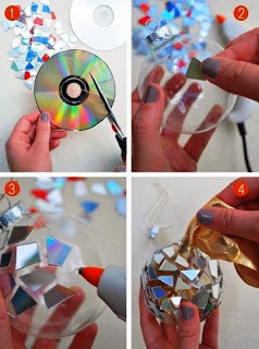 Personalized CD Christmas Balls Ornaments Pictures Ideas 2015