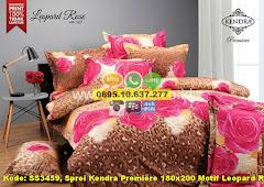 Harga Sprei Kendra Premiere 180×200 Motif Leopard Rose Jual