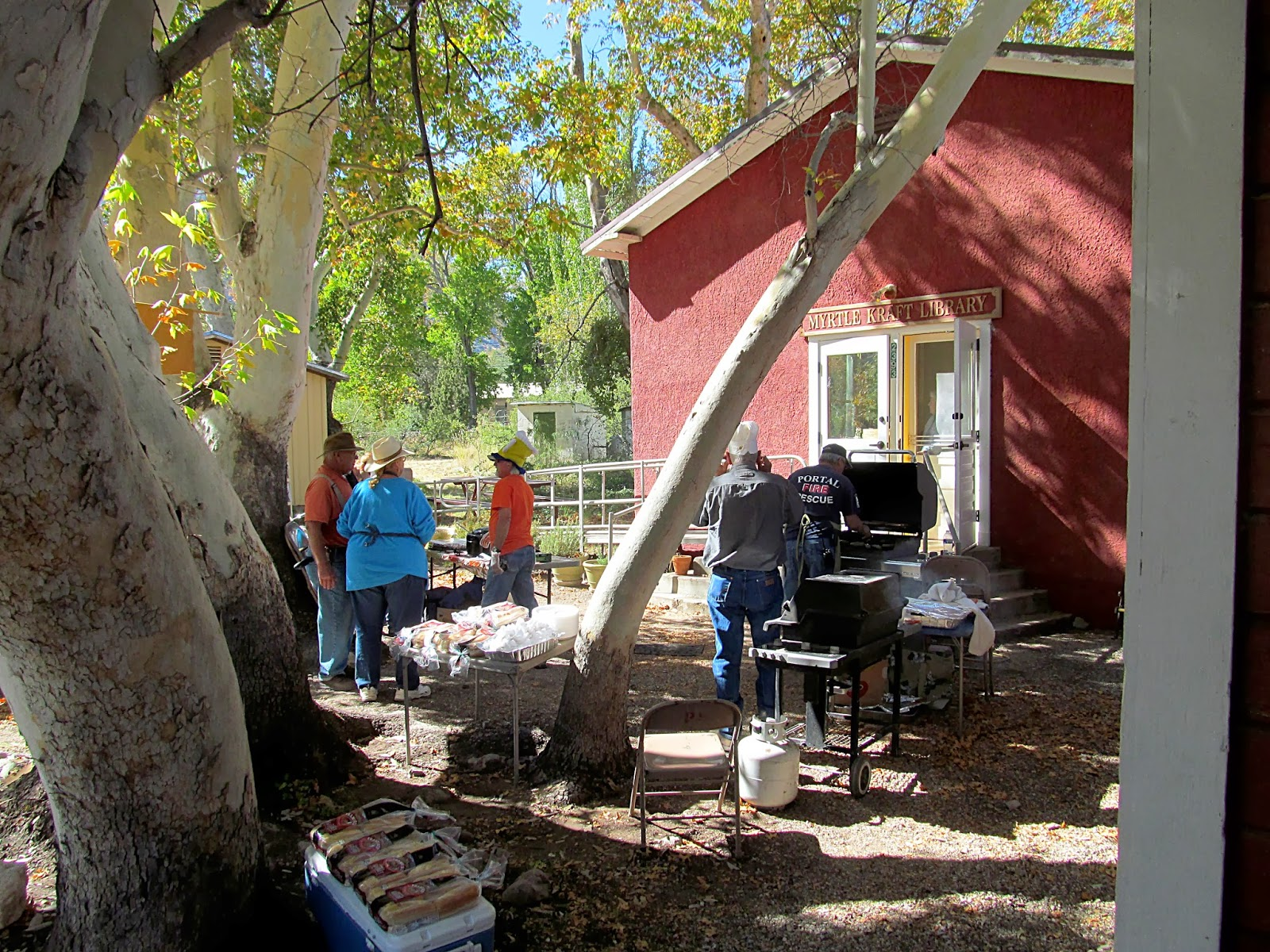 cooking lunch in portal az
