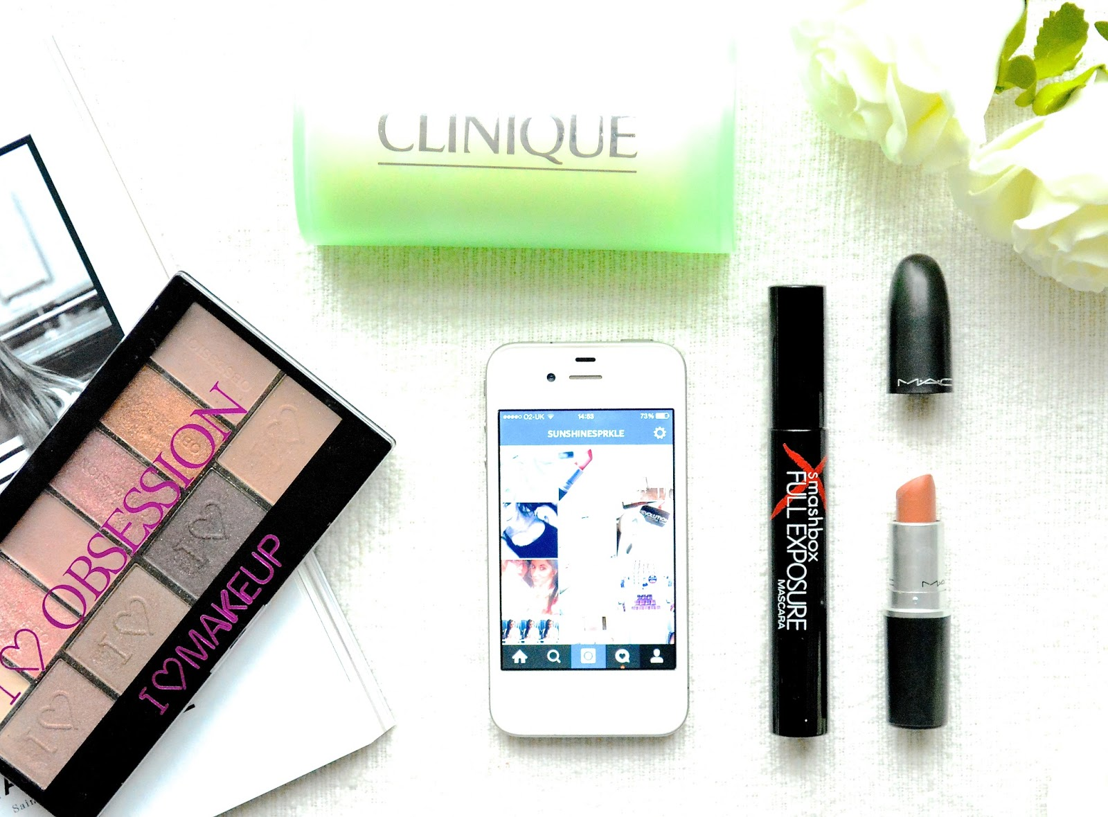 March Beauty Favourites, Instagram, iPhone, Mac Honey Love, Mac Lipstick, Smashbox Full Exposure Mascara, Clinique