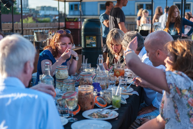 We The Food Snobs sample the culinary delights of The Disappearing Dining Club's Rooftop Picnic and BBQ