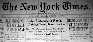 old time radio show headline