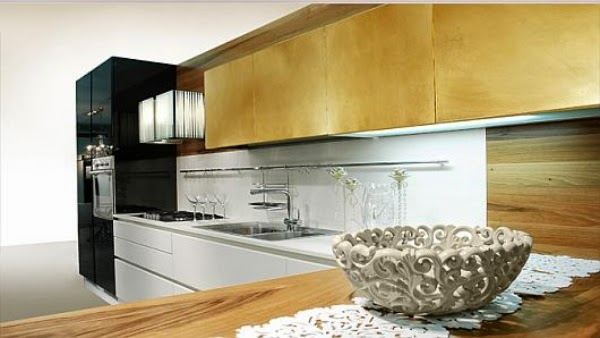 Popular kitchens in modern style