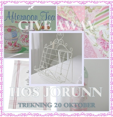 Nydelig Give-away hos Jorunn