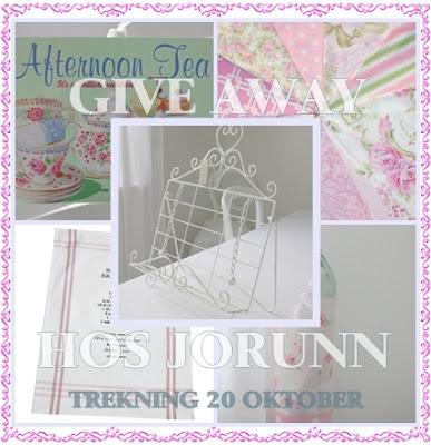 Nydelig Give-away hos Jorunn