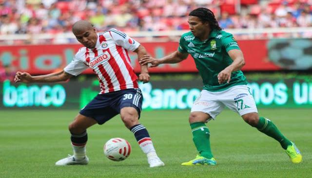 Ver partido Leon vs Chivas de Guadalajara en vivo