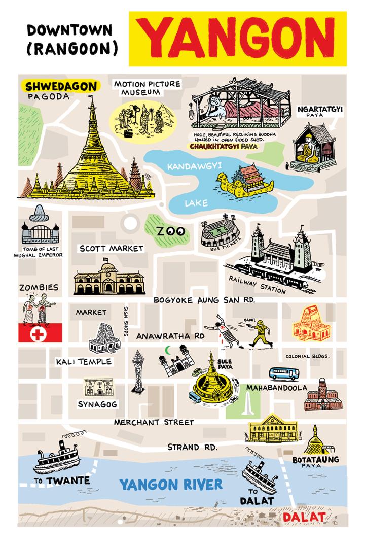 asiaddict: Yangon Map on vientiane map, burma map, taiohae map, hanoi map, hong kong map, bumthang map, phnom penh, ho chi minh city, manila map, rangoon map, mekong river map, siem reap, jakarta map, islamabad map, bandar seri begawan map, great wall of china map, bangkok map, kuala lumpur, murang'a map, aung san suu kyi, burmese language, kuala lumpur map, taipei map, yangtze river map, naypyidaw map, myanmar map,