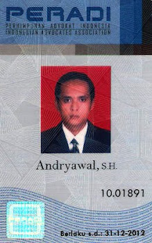 Lawyer Licensed In Indonesia and Member Of PERADI (Indonesian Advocates Association)