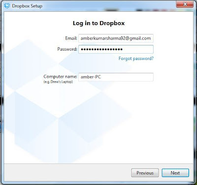dropbox authentication