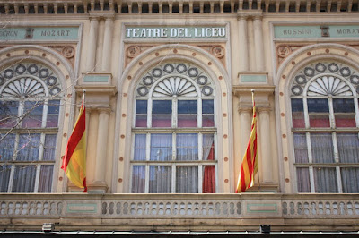 Liceu Grand Theatre in Barcelona