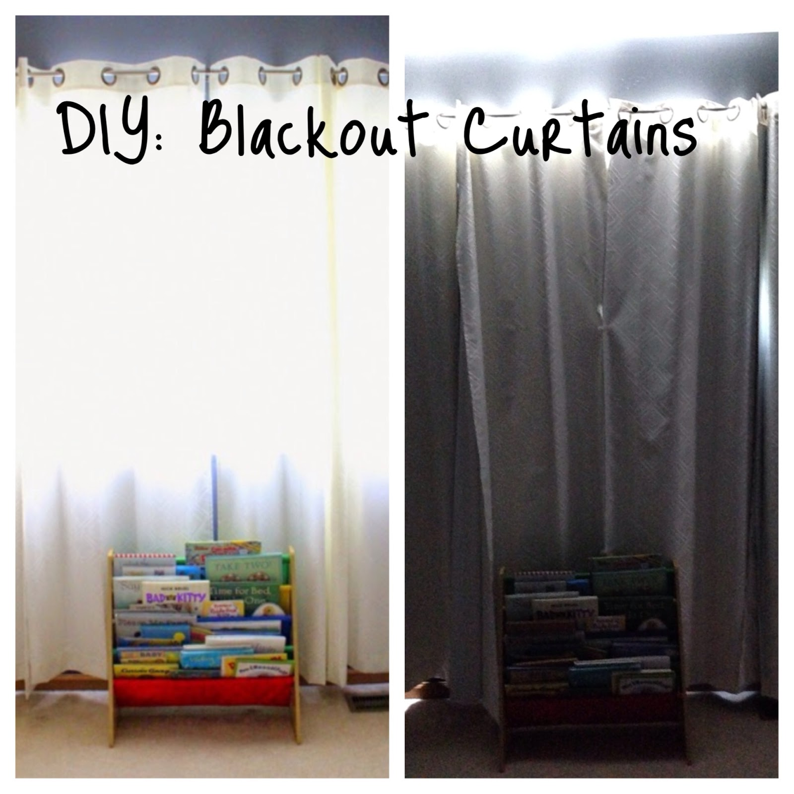 Married To Davis Diy Blackout Curtains