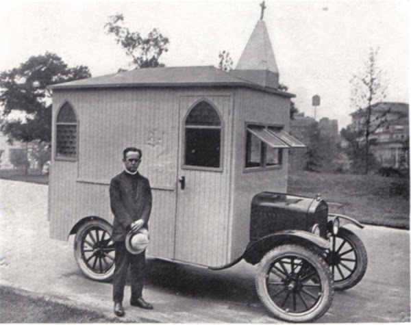 1923 Church car