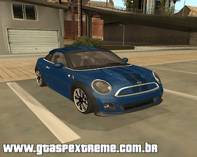 Mini Coupe Concept 2010 para grand theft auto