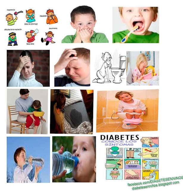 CUALES SON LOS SÍNTOMAS DE LA DIABETES INFANTIL
