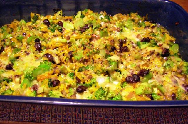 ... Recipes From Alice's Kitchen: Black Bean, Broccoli and Rice Casserole