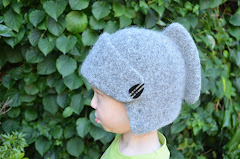 Pattern felted knight helmet