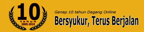 10 Tahun Dagang Online