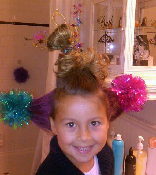 Seussical Jr Girls Hairstyle Tutorials