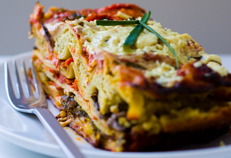 Image from http://wellandawake.com/vegan-vegetarian-lasagne-without ...