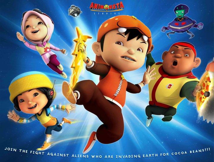 BoBoiBoy (2011) VOL 1 DVDRip XviD AVI Mediafire