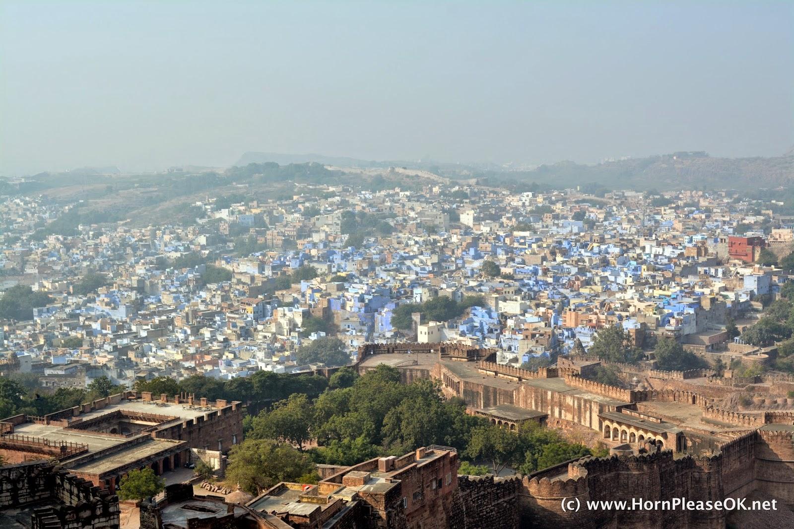 A view of Jodhpur, The Blue City