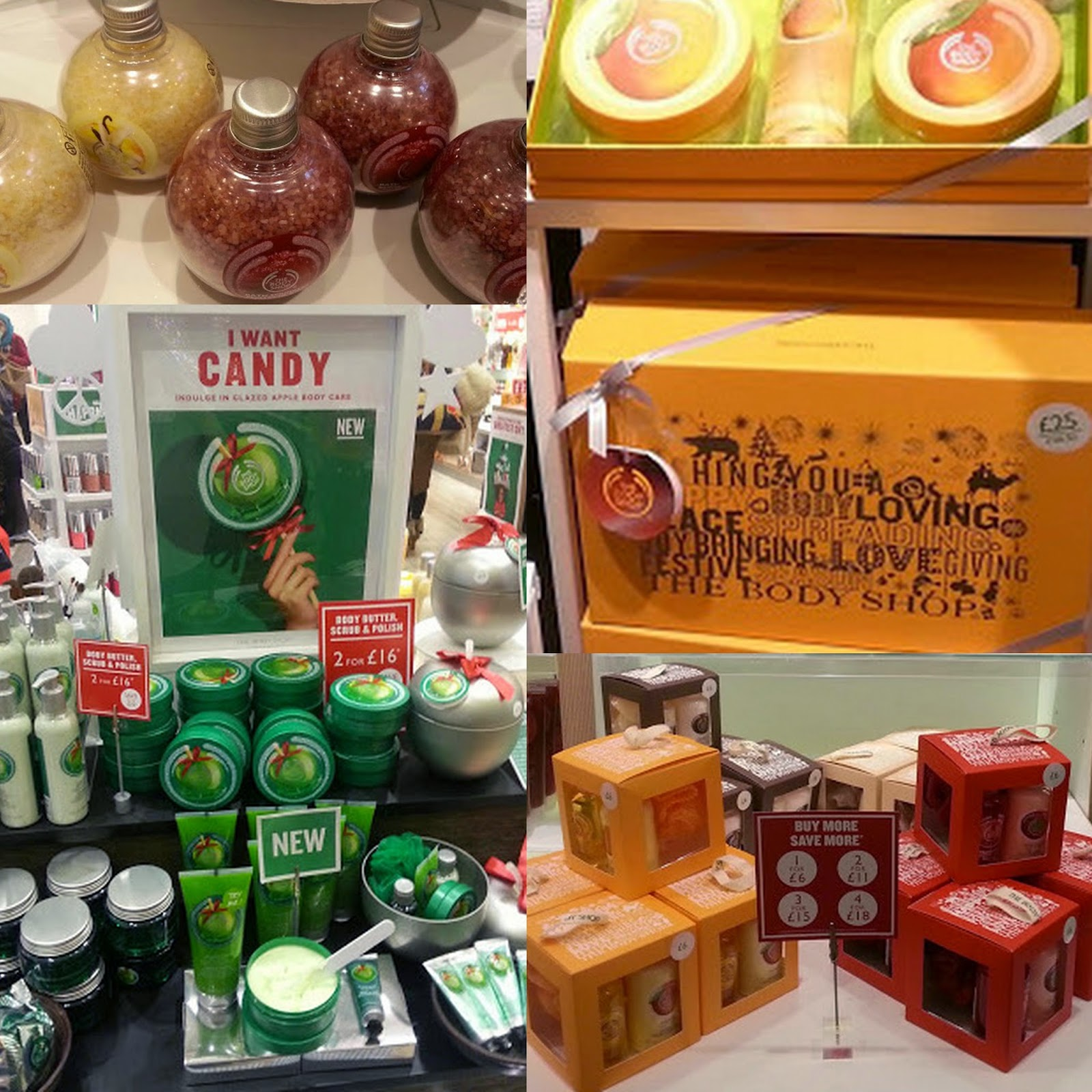 Gifts for her this Christmas from The Body Shop
