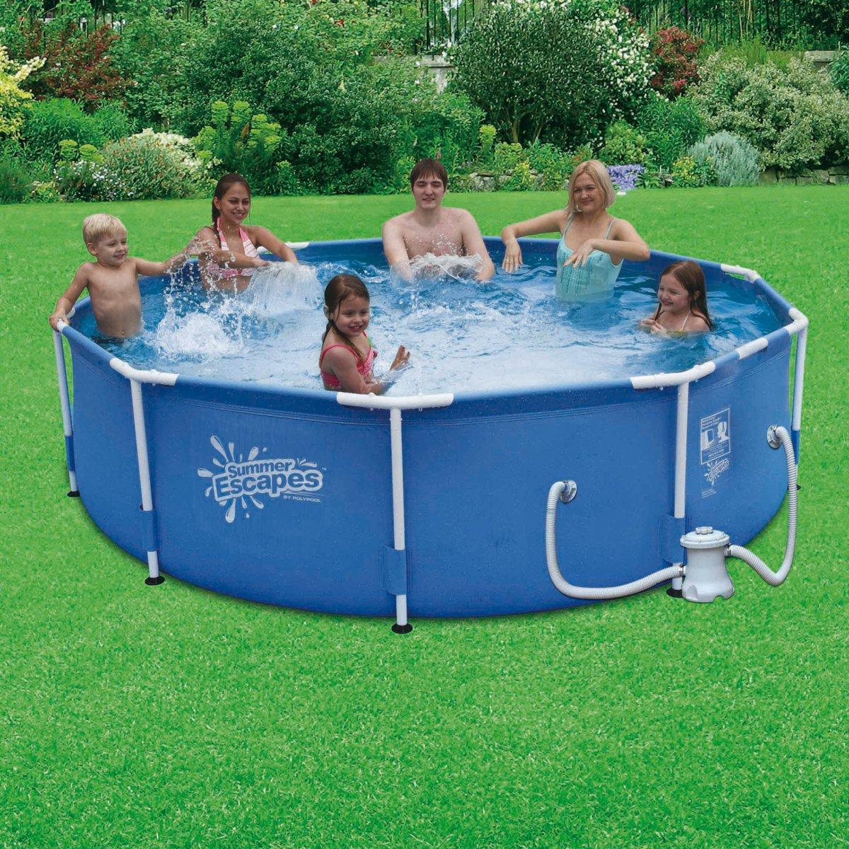 J 39 ai descendu dans mon jardin une piscine dans mon jardin for Apprendre a plonger dans une piscine