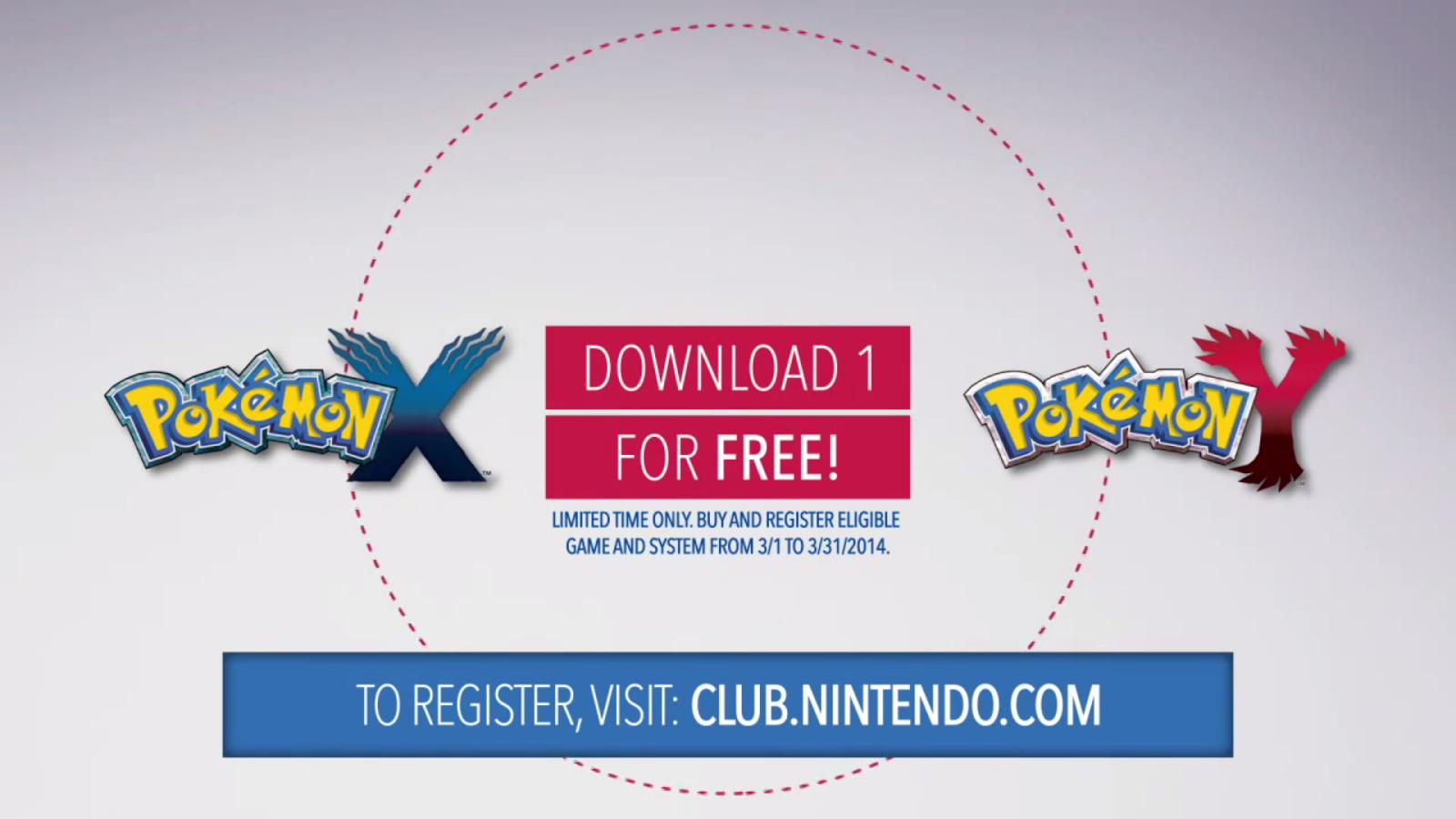 Promoción: Consigue una copia GRATIS de Pokémon X/Y en EE.UU.