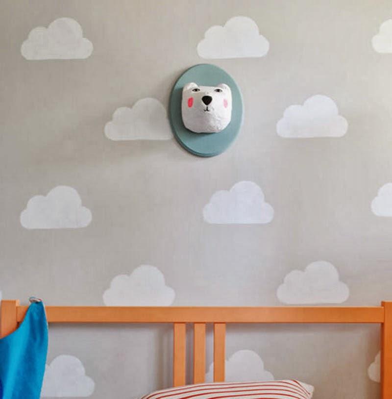 Plantillas de dibujos para paredes interesting cm x cm - Plantillas para decorar ...