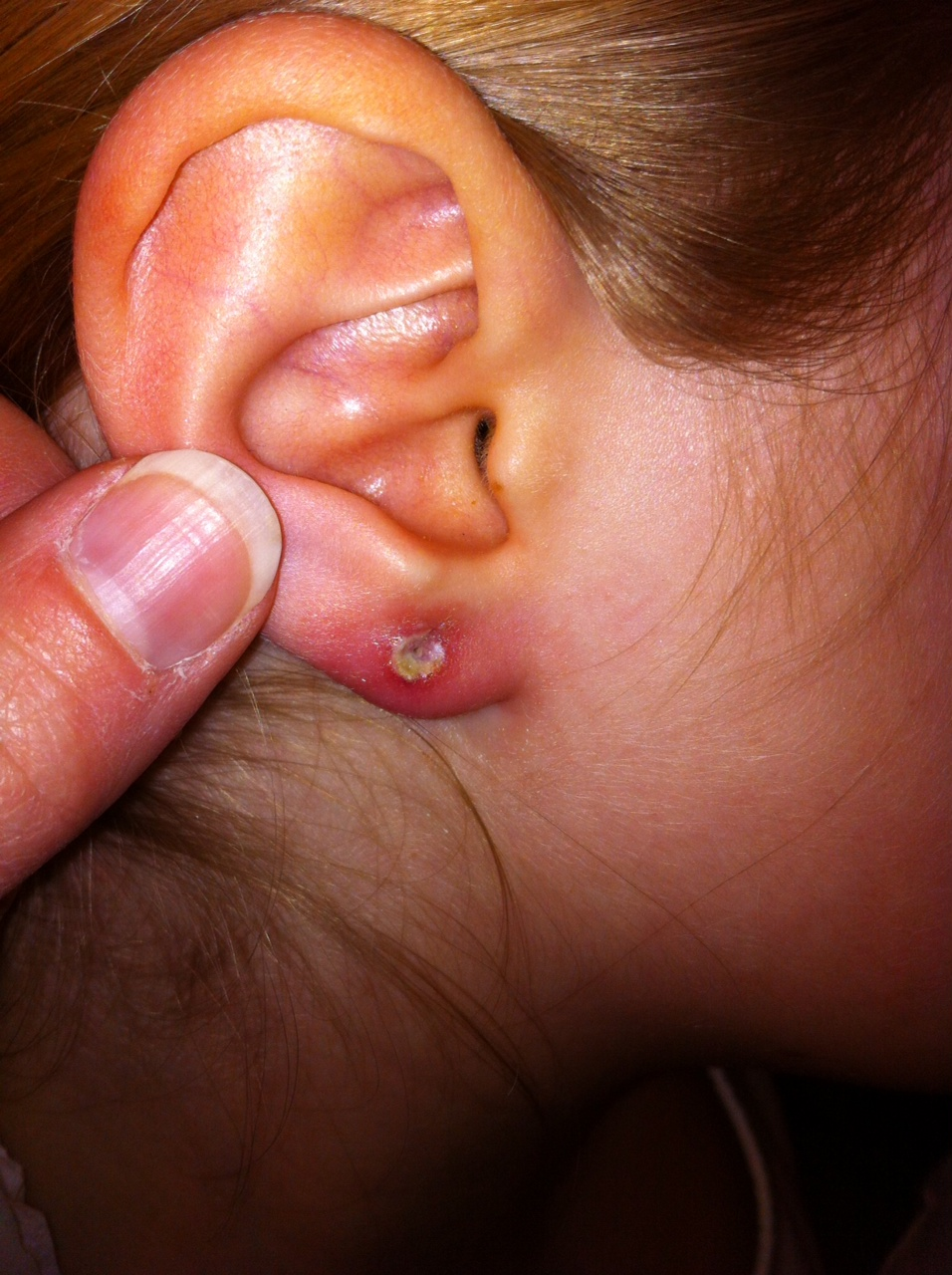 boys ear piercing both ears hairstylegalleries
