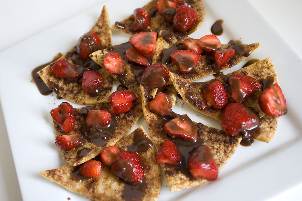 From Like To Love: Strawberry & Chocolate Nachos