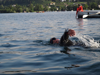 Rapperswil to Zurich marathon swim