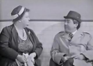 Tony Hancock and fat lady