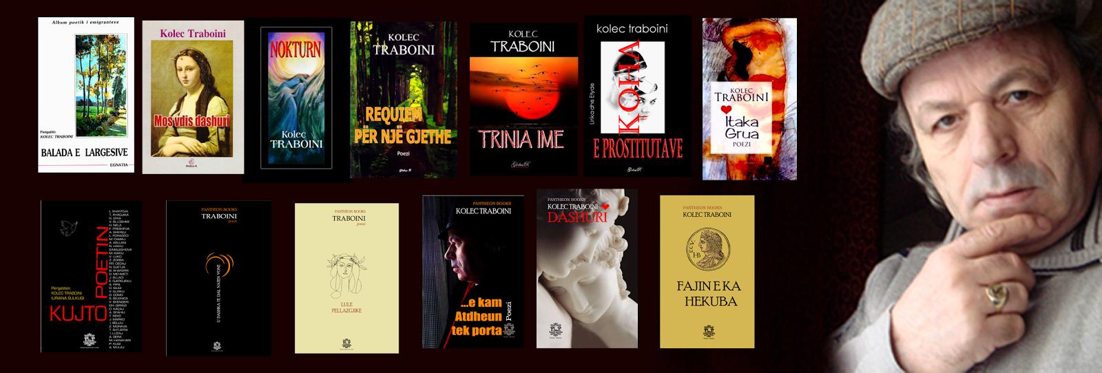 Vëllime me poezi  të Traboinit