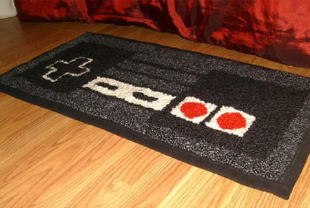 Pictovista 10 craziest designs of carpets rugs Controller rug