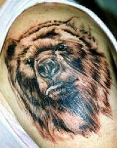 Bear Tattoos Designs