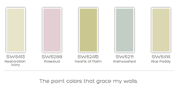 Happy Paint Colors Courtney From Style Courtu0027s Guest