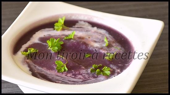 soupe chou rouge
