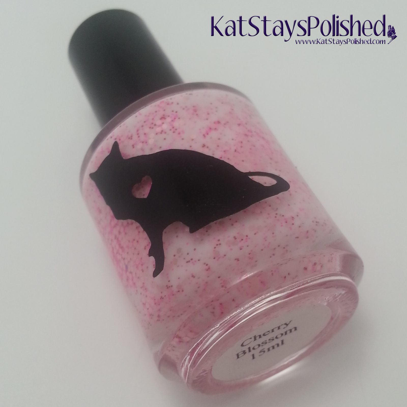 Creations by Lynda - Cherry Blossom | Kat Stays Polished
