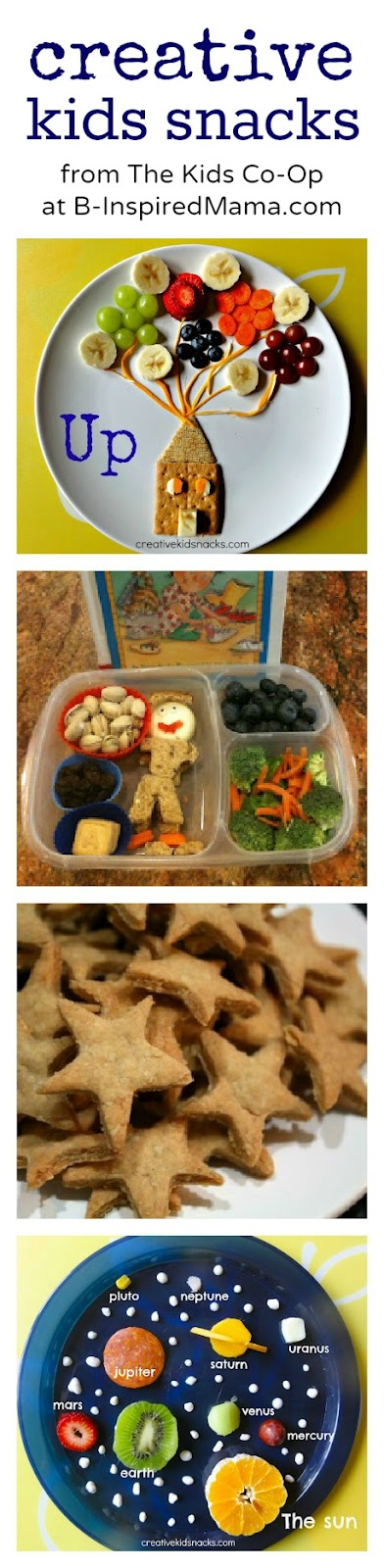4 fun lunch foods for kids