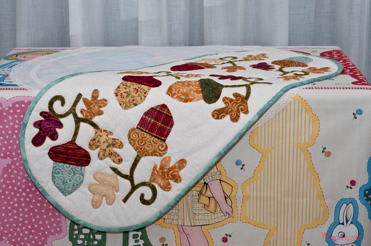 Mi cachito de patchwork tapete o camino de mesa - Camino mesa patchwork ...